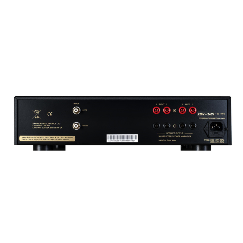 3010S2D Stereo Power Amplifier