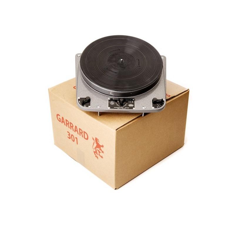 Garrard 301 Shipping Box