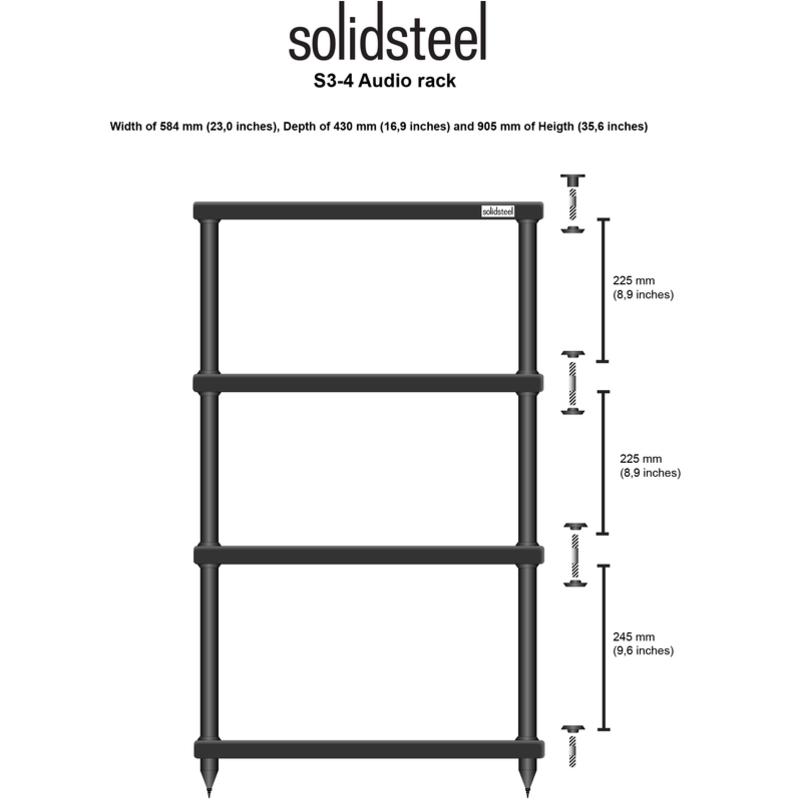 S3 Series Reference HiFi Rack S3-4