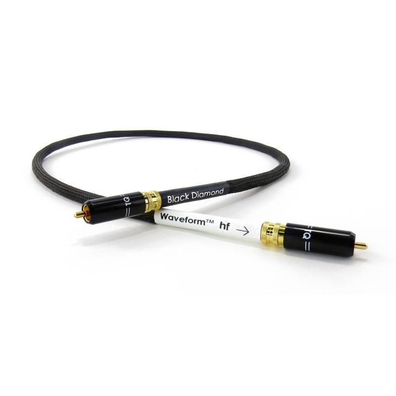 BLACK DIAMOND 1.0m WAVEFORM DIGITAL RCA CABLE