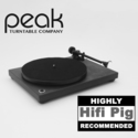 Peak PT1 Highly Recommended in HiFi Pig Review