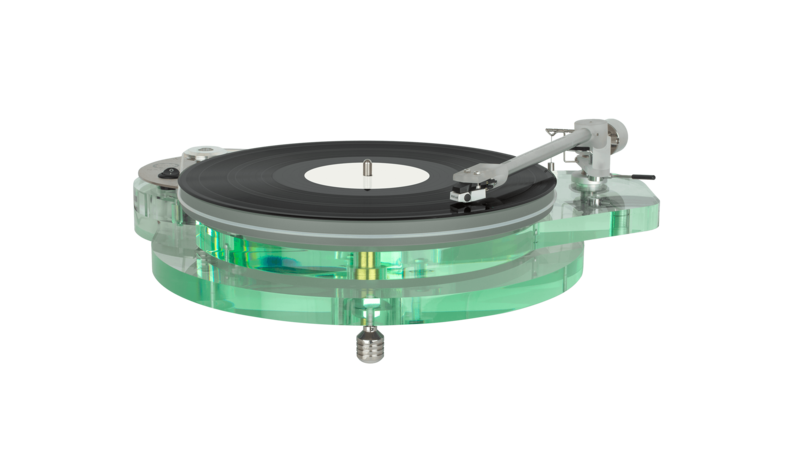 Radius 7 Turntable
