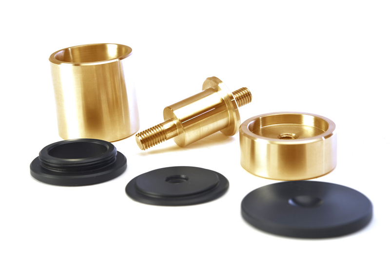 Reference Support Pillars Brass