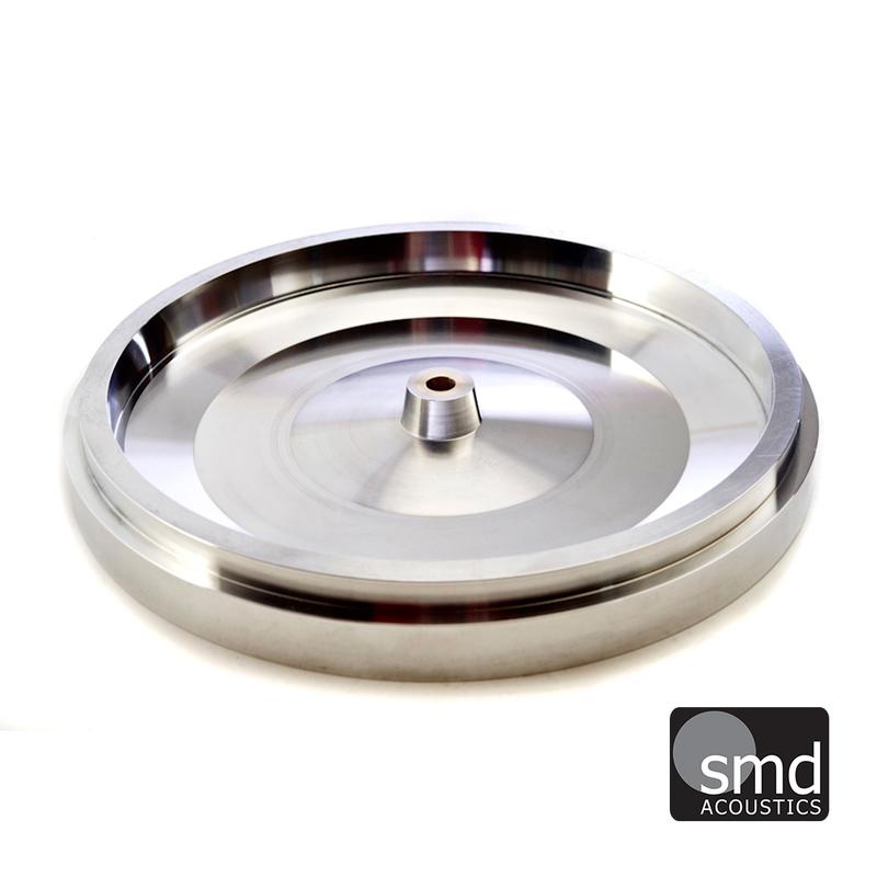 SMD Acoustics Stainless Steel Platter Upgraded Platter for Garrard 301/401