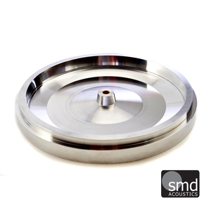 SMD Acoustics Stainless Steel Platter Upgraded Platter for Garrard 301/401
