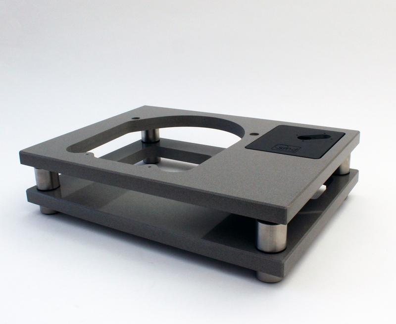 SMD Acoustics Type II Quartz Reference Plinth (Garrard 301/401)