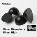 Sorbothane® 30mm Isolation Hemispheres