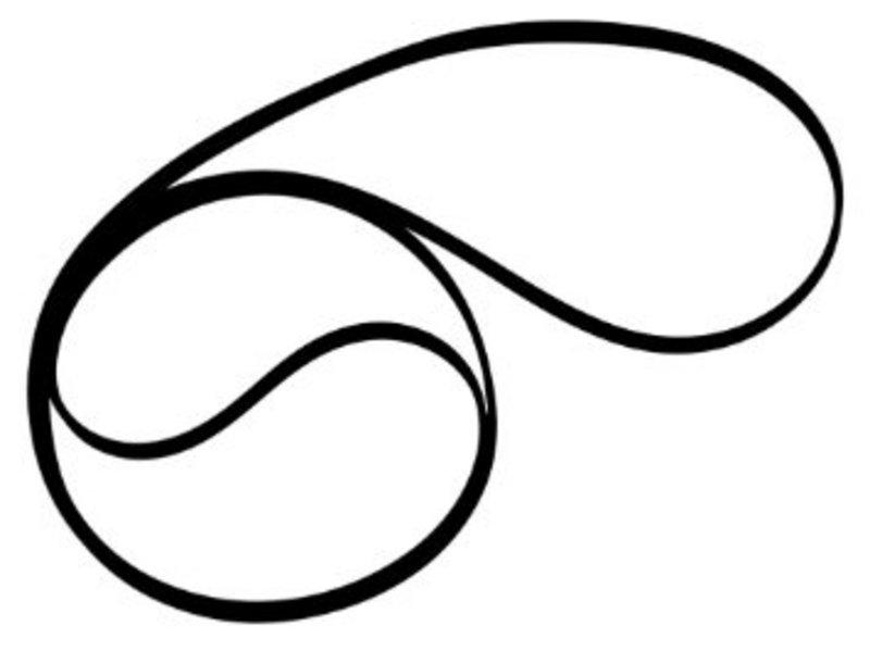 Delphi Turntable Belt